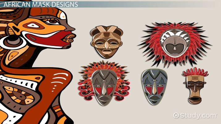 Aborginal mask art lessons clipart transparent African Masks: Meaning & Designs - Video & Lesson Transcript | Study.com transparent