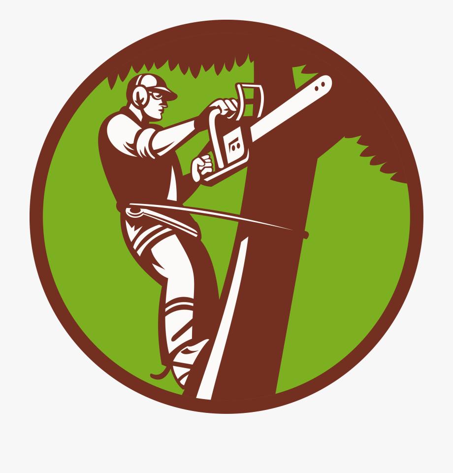 Aborist clipart vector black and white stock Tree Stump Arborist Logo Stump Grinder - Tree Service Clip Art ... vector black and white stock