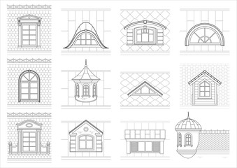 Above entry pediment red and white clipart banner library library Search photos pediments banner library library