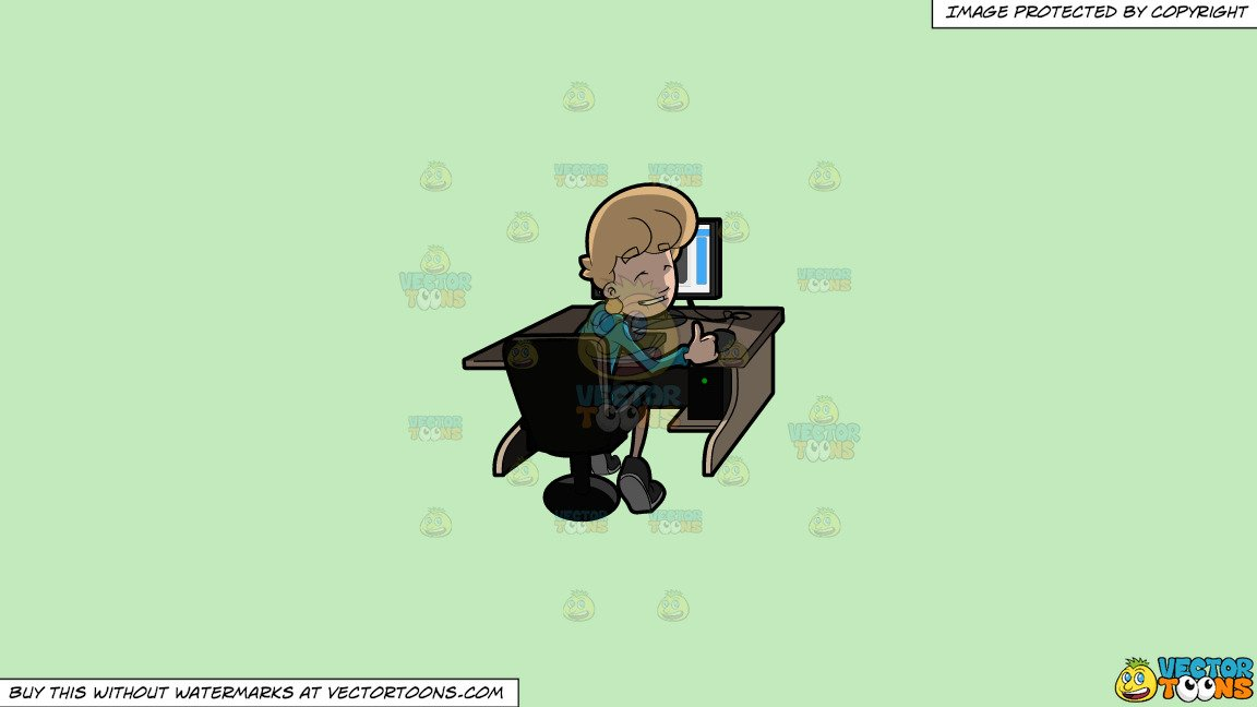 Above seated adult male clipart clipart stock Clipart: A Man Approving The Contents Of What He Saw On The Internet on a  Solid Tea Green C2Eabd Background clipart stock