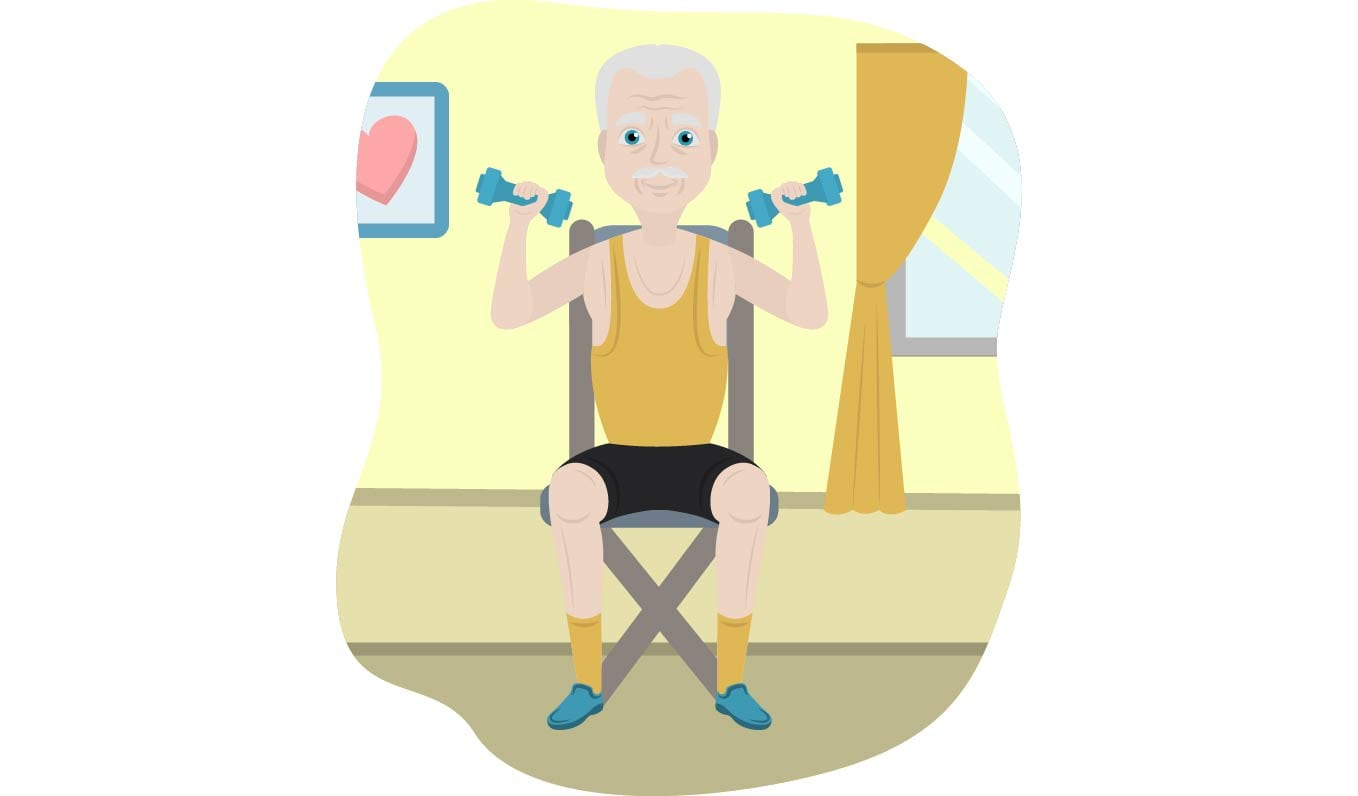 Above seated adult male clipart clip art transparent library 21 Chair Exercises for Seniors: Complete Visual Guide - California ... clip art transparent library