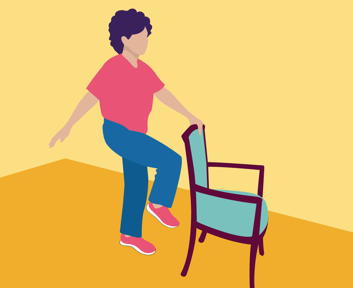 Above seated adult male clipart jpg free stock 14 Balance Exercises for Seniors (Less than 5 Min) - Improve Strength jpg free stock