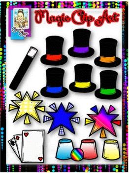 Abracadabra magic clipart svg transparent library Clip Art~ Abracadabra! Magic Clip Art svg transparent library