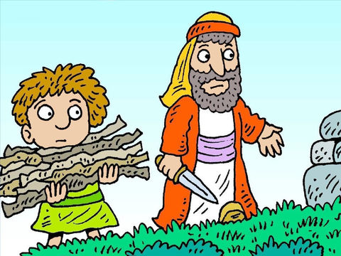Abraham intervenes with angels for sodom and gomorrah clipart