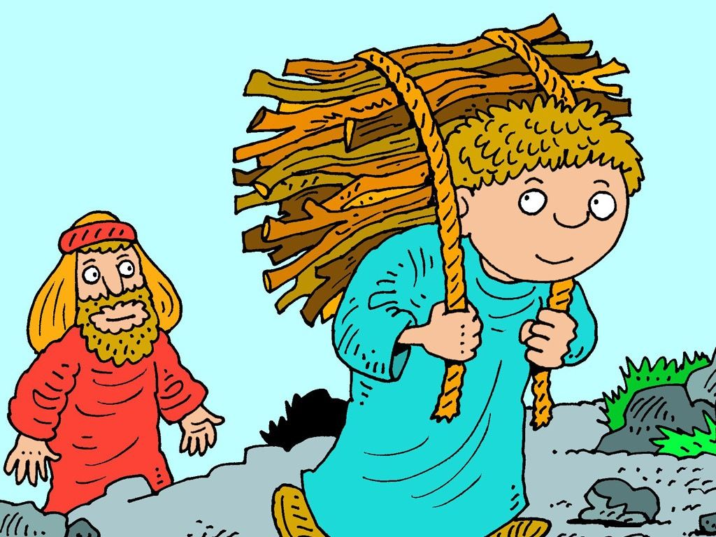Abraham and isaac clipart clip freeuse FreeBibleimages :: Abraham and Isaac :: Abraham has the faith to ... clip freeuse