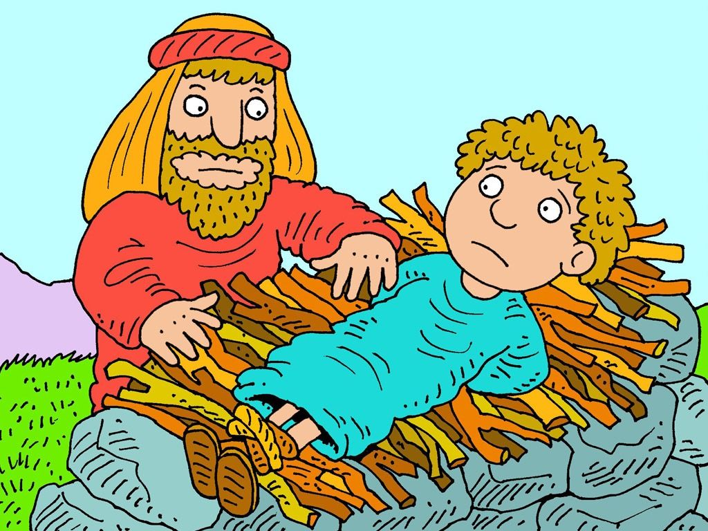 Abraham and isaac clipart jpg transparent FreeBibleimages :: Abraham and Isaac :: Abraham has the faith to ... jpg transparent