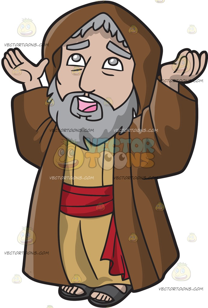 Abraham Praying To God » Clipart Station picture freeuse stock
