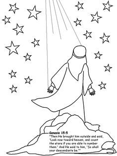 Abraham counts stars clipart clipart transparent stock abraham looking up at stars clip art - Google Search | Bible Journal ... clipart transparent stock