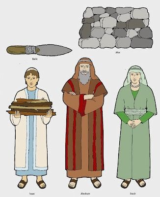 Abraham isaac and jacob clipart. Clipartfest
