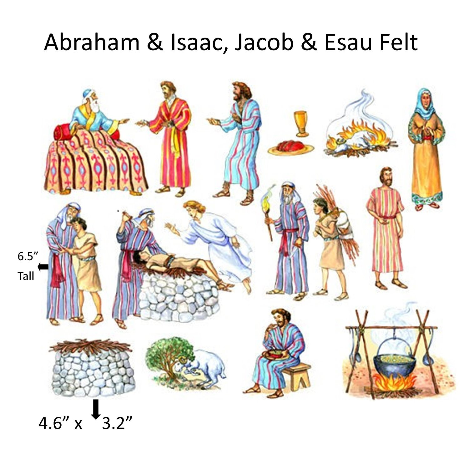 best images about. Abraham isaac and jacob clipart