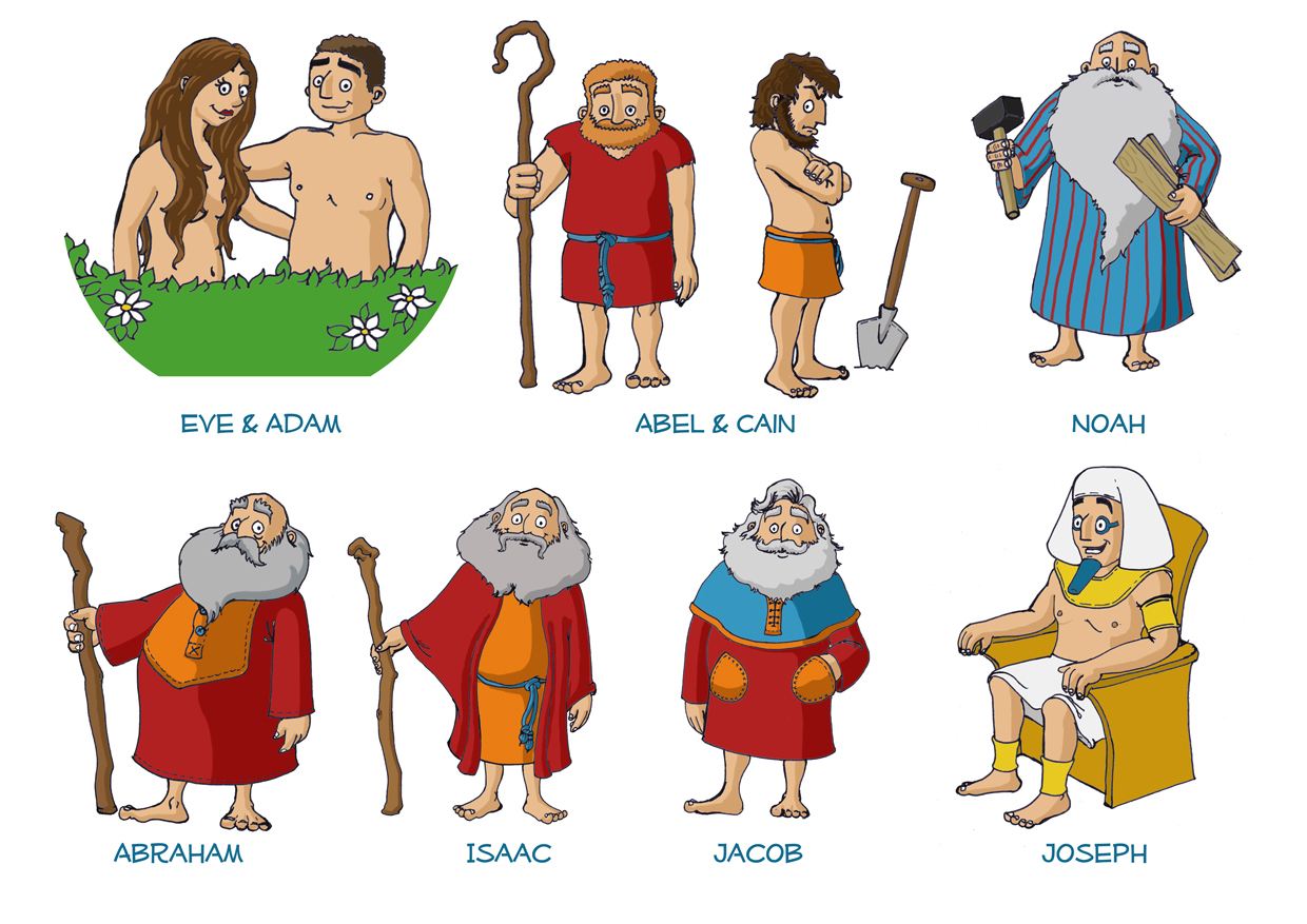 Genesis life living the. Abraham isaac and jacob clipart
