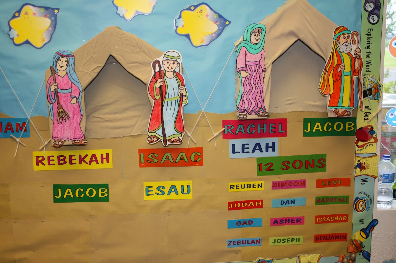 Abraham isaac and jacob clipart jpg royalty free library Hands On Bible Teacher: Abraham, Isaac and Jacob Bulletin Board ... jpg royalty free library