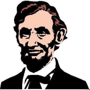 Abraham lincoln clipart free clip art freeuse download Free Abe Lincoln Clipart | Free Images at Clker.com - vector clip ... clip art freeuse download