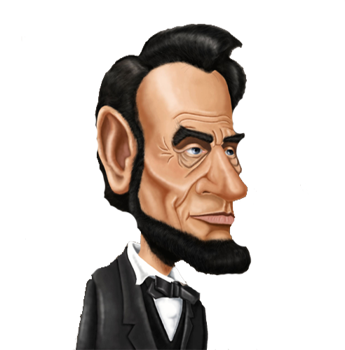 Free lincoln clipart image black and white library Free Lincoln Cliparts, Download Free Clip Art, Free Clip Art on ... image black and white library