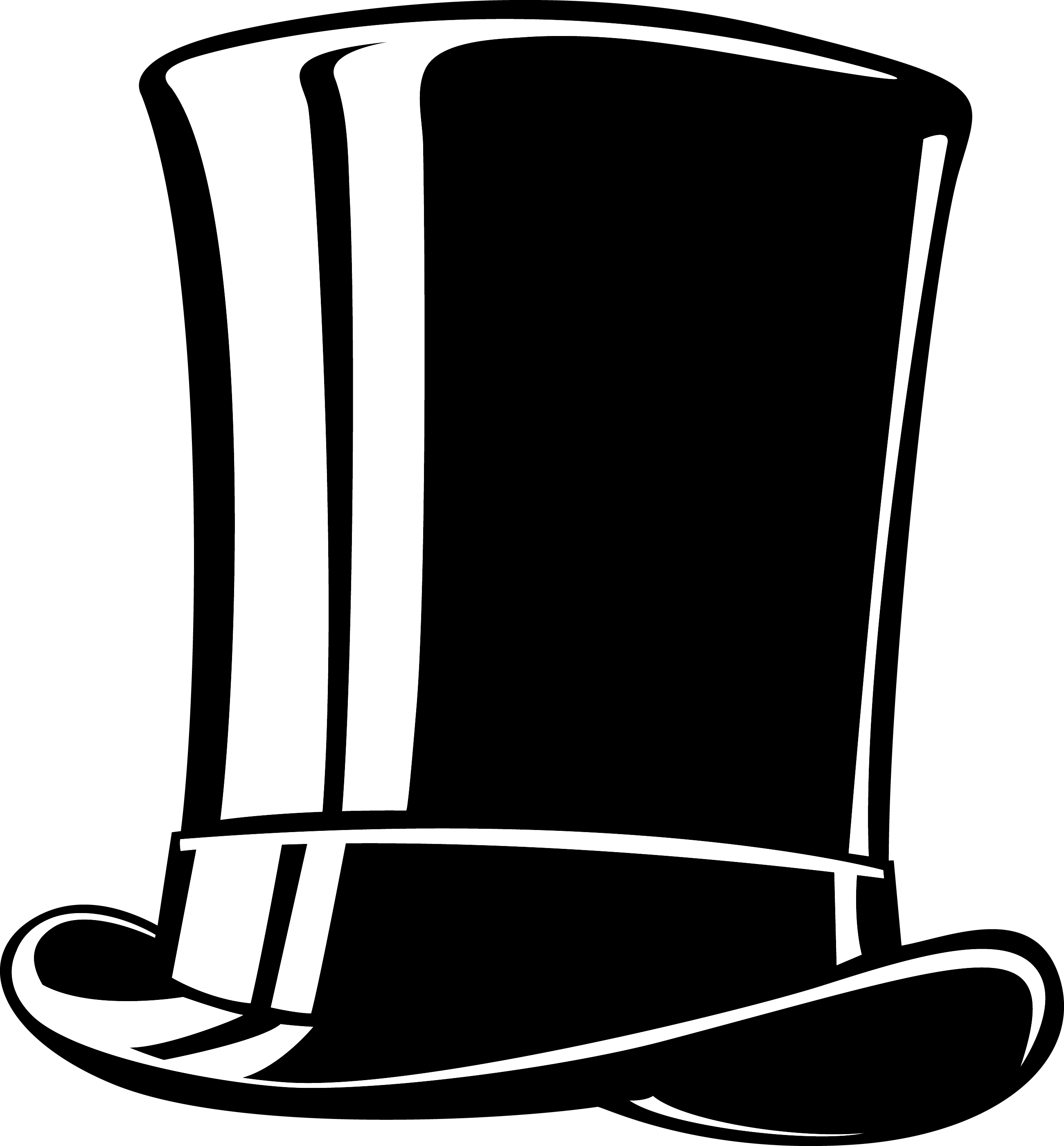 Abraham lincoln hat clipart picture 26 Images of Abraham Lincoln Top Hat Template | bfegy.com picture