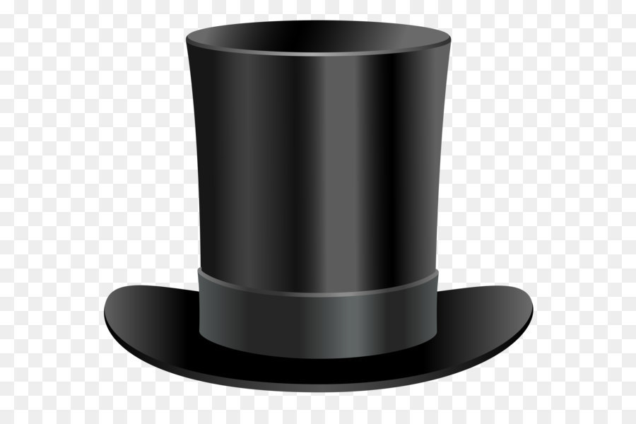 Clipart png black and white top hat