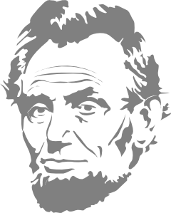 Abraham lincoln silhouette clipart png library Free Abraham Lincoln Cliparts, Download Free Clip Art, Free Clip Art ... png library