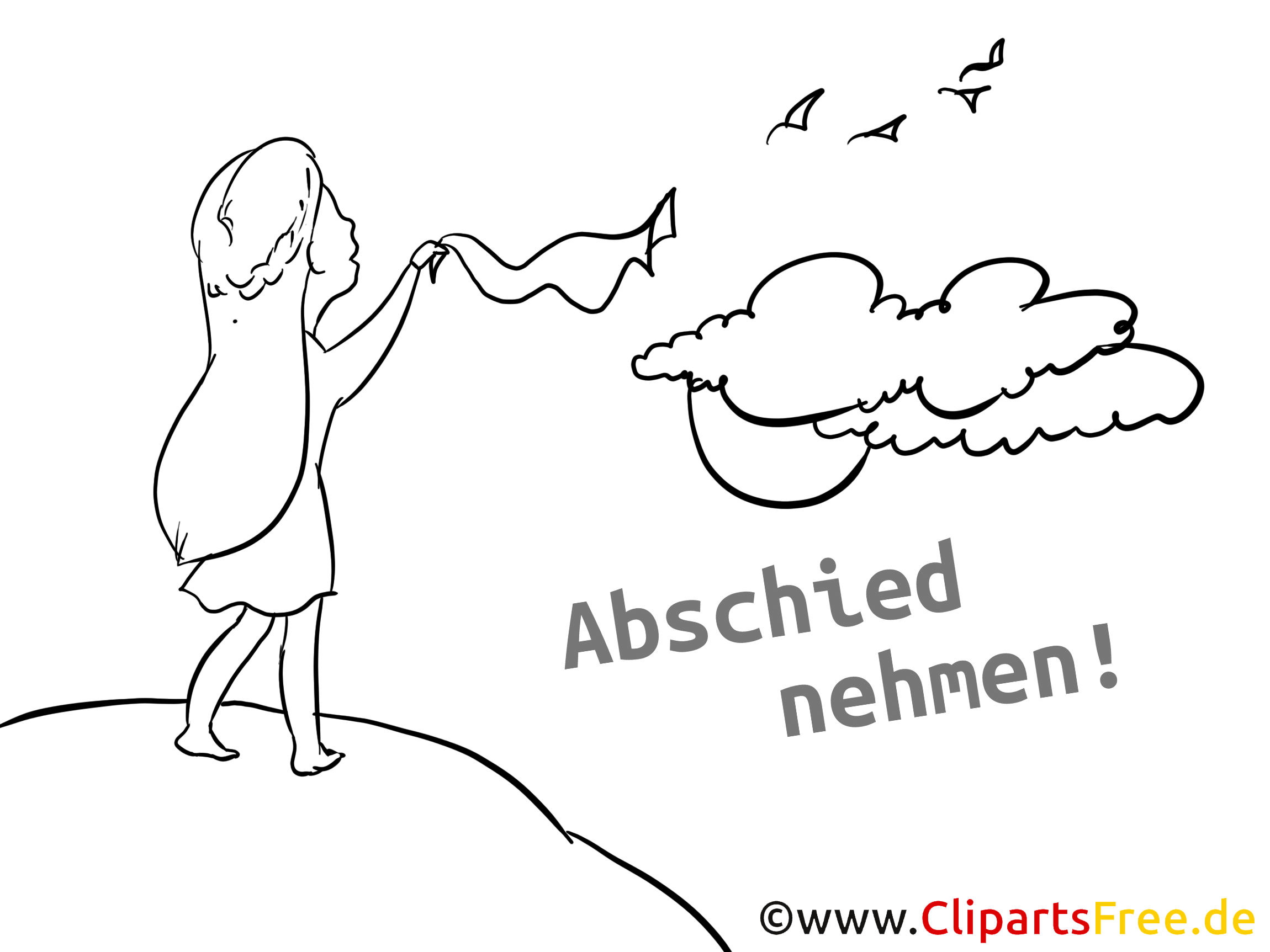 Abschied clip art clip library download Abschied Karte clip library download
