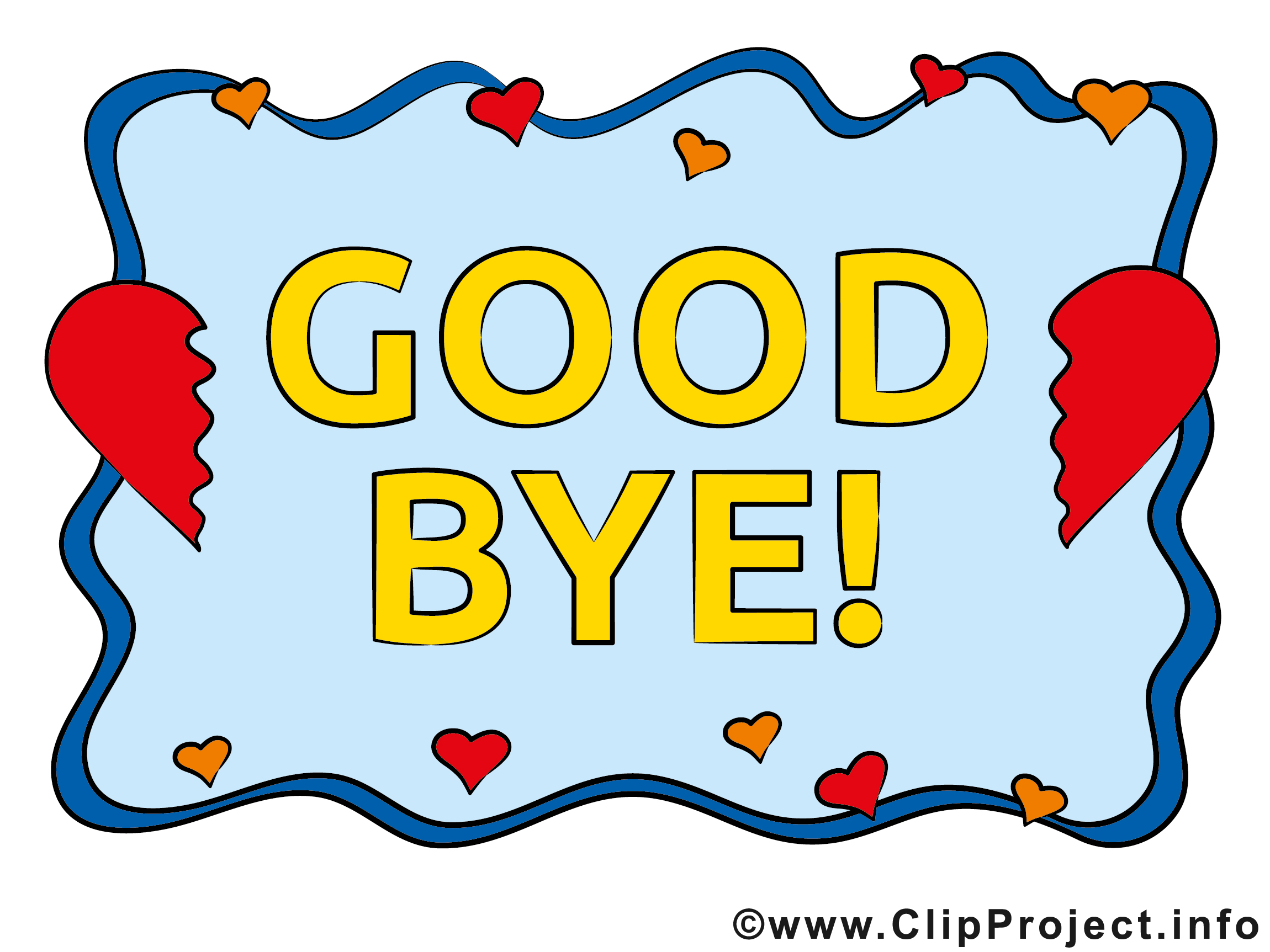Abschied clip art clip library download Karten zum Abschied clip library download