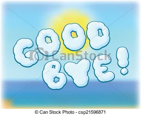 Abschied clipart. Goodbye clip art and