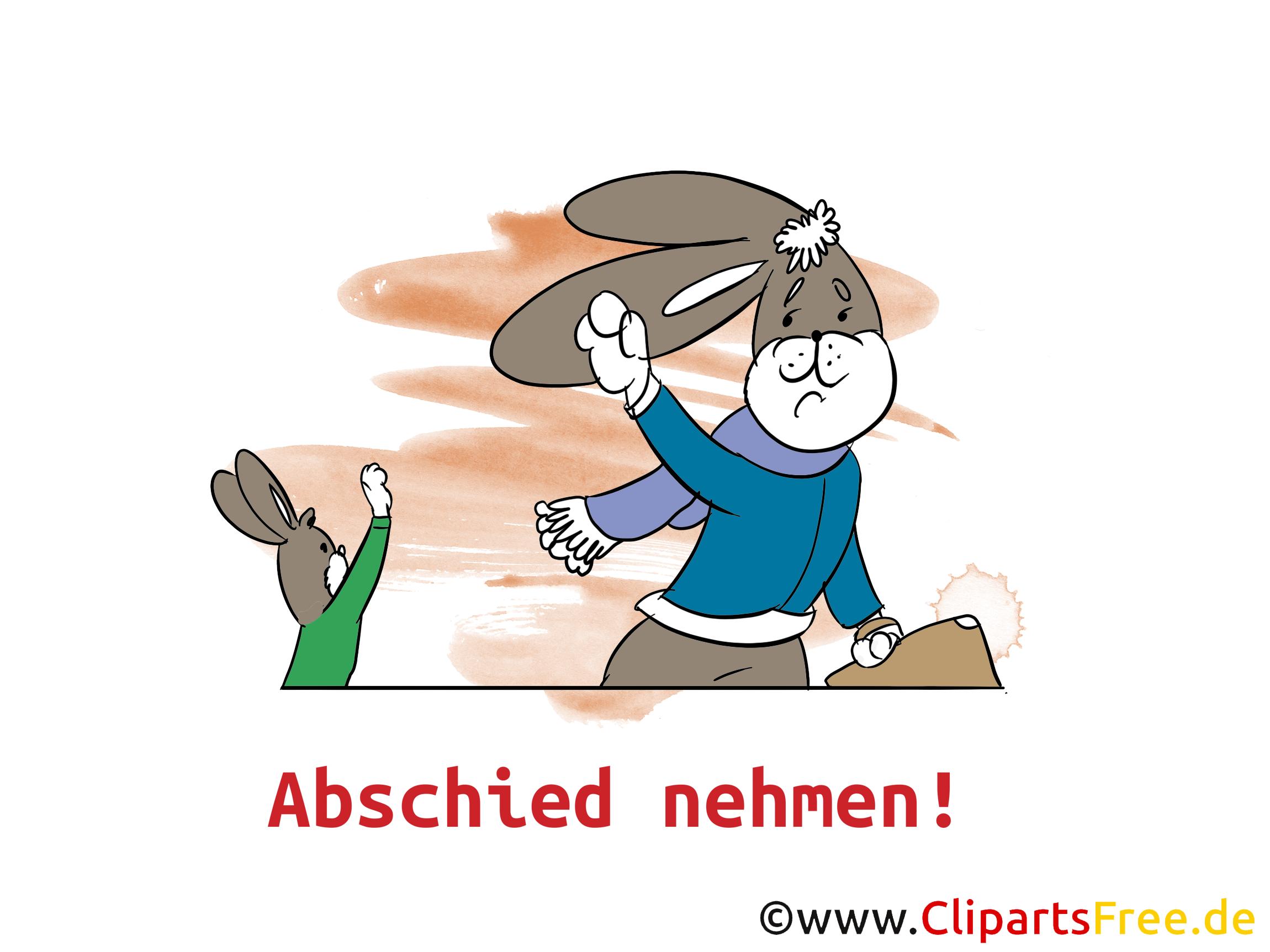 Abschied Bilder, Cliparts, Cartoons, Grafiken, Illustrationen ... clipart library