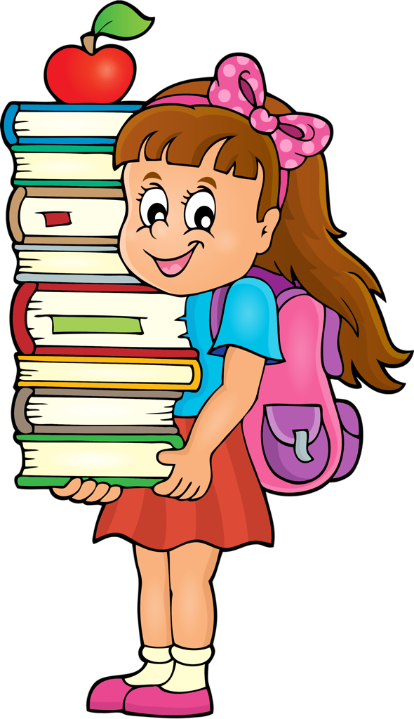 Girl getting ready for school clipart vector library download Weekly_school_timetable_theme_4 [преобразованный].png | Pinterest ... vector library download