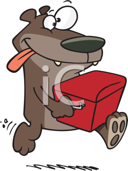 Abscond clipart freeuse library Royalty Free Clipart Image of a Bear Stealing a Cooler #349706 ... freeuse library