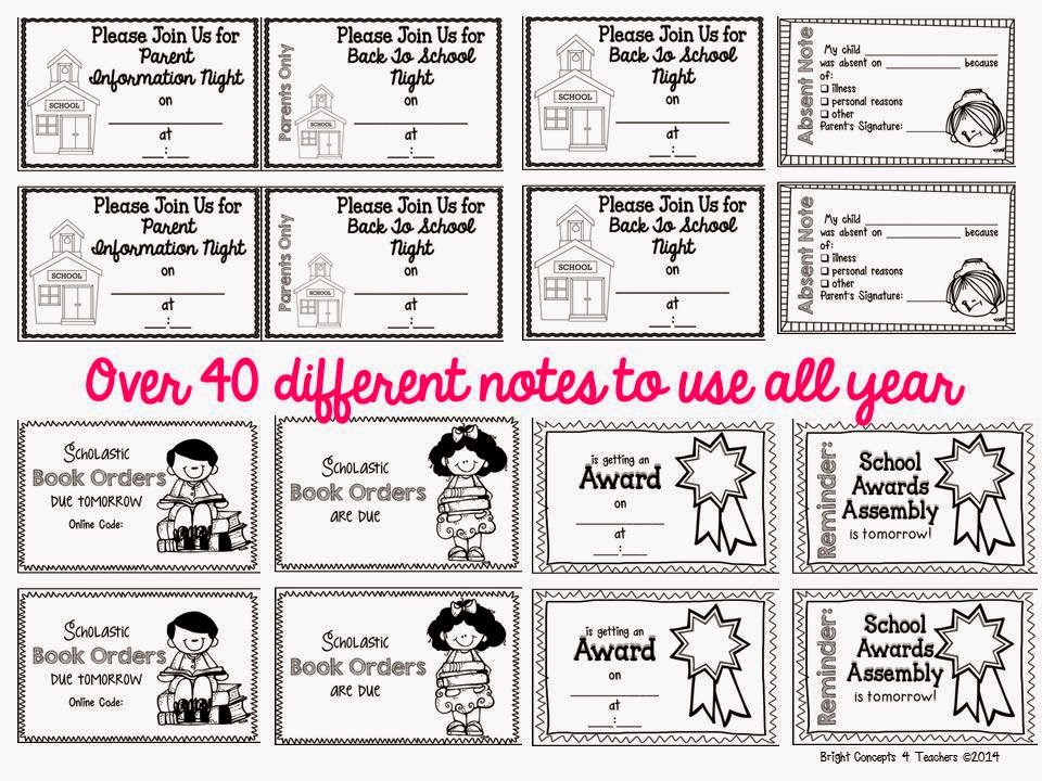 Absent note clipart clip art black and white download Lesson Plans and Teaching ... - April 2014Bright Concepts 4 Teachers clip art black and white download