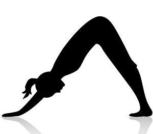 Yoga | Skimming Deep vector royalty free stock