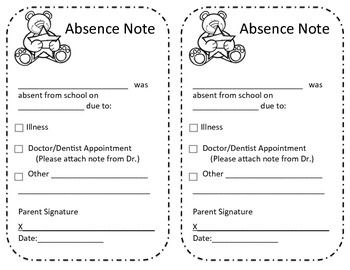 Excused letter clipartfest absence. Absetn from school clipart