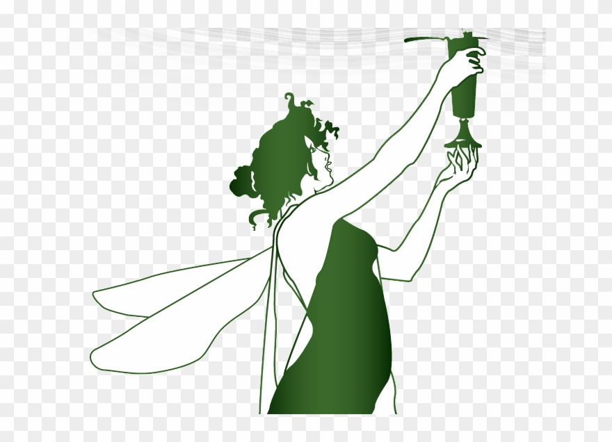 Absinthe clipart picture black and white library Green Absinthe Fairy Clipart (#2725929) - PinClipart picture black and white library