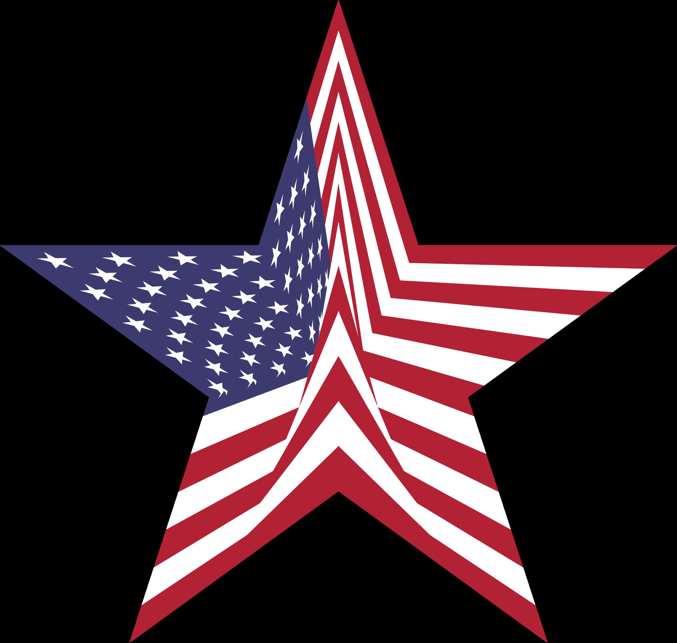 Star flag clipart clip art free Clipart - America Flag Star clip art free