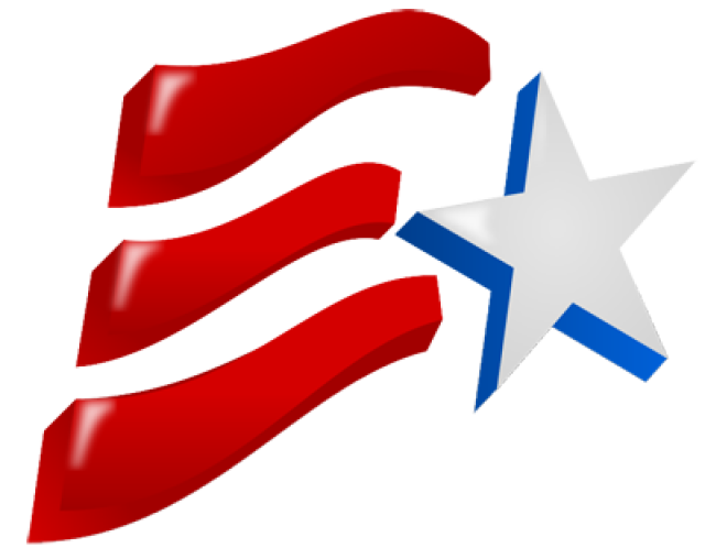 Abstract american star and flag clipart image Grab This Free Clip Art and Celebrate This 4th of July | Pinterest ... image