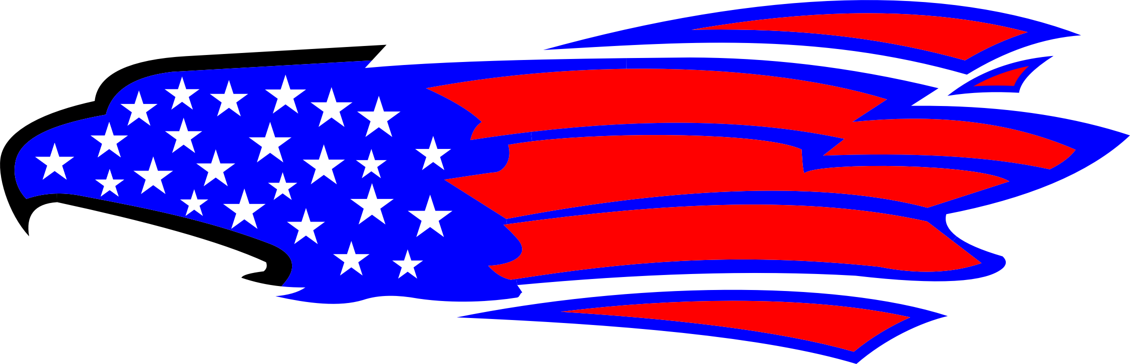 Abstract american star and flag clipart picture royalty free library Clipart - American Eagle picture royalty free library