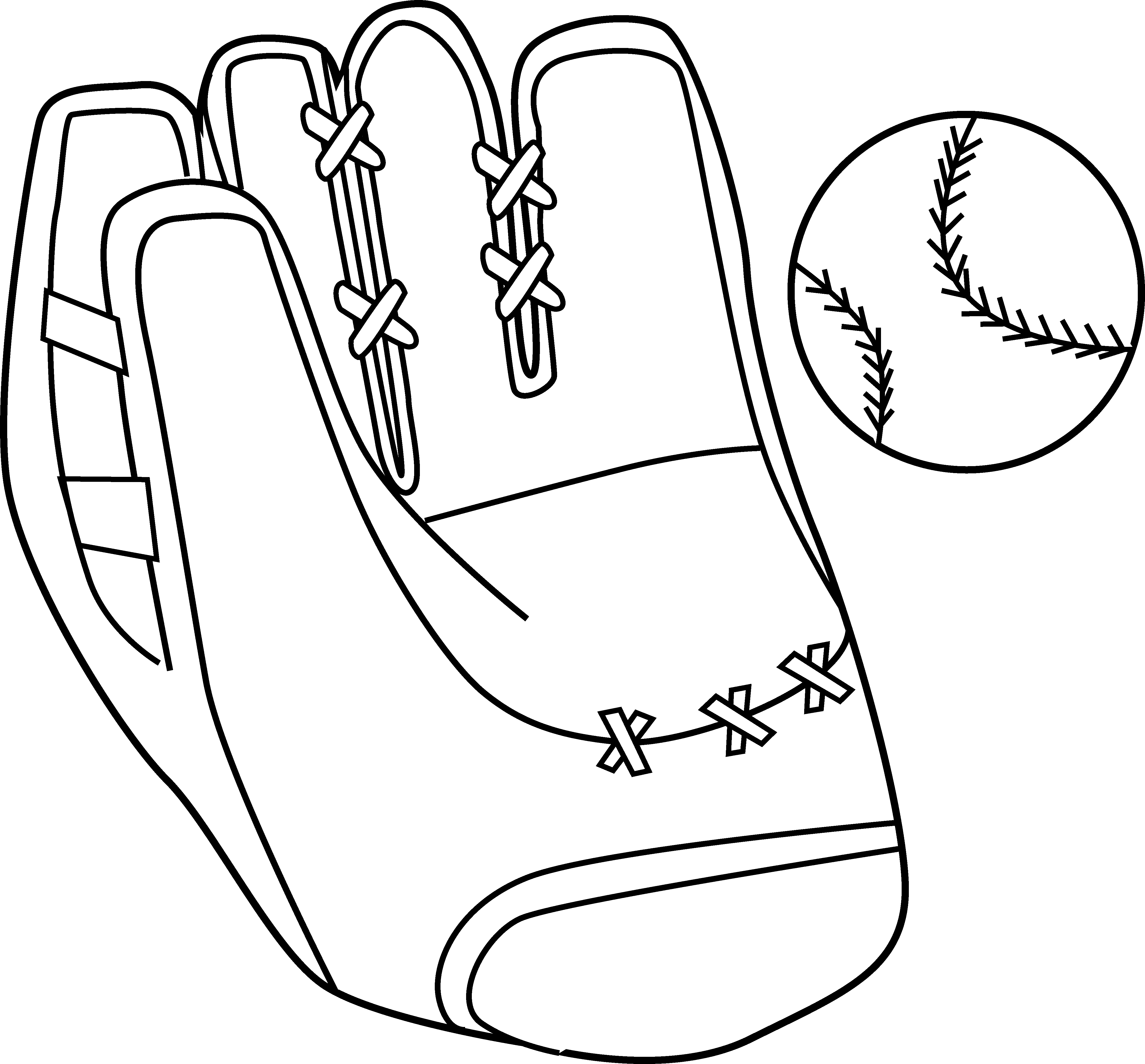 Clipart of baseball gear picture download Baseball Ball Drawing at GetDrawings.com | Free for personal use ... picture download