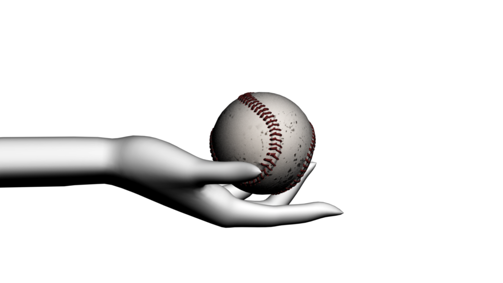 Baseball theme clipart clip transparent download Sports Themed Video Clipart with Abstract Hand and Baseball - Free ... clip transparent download