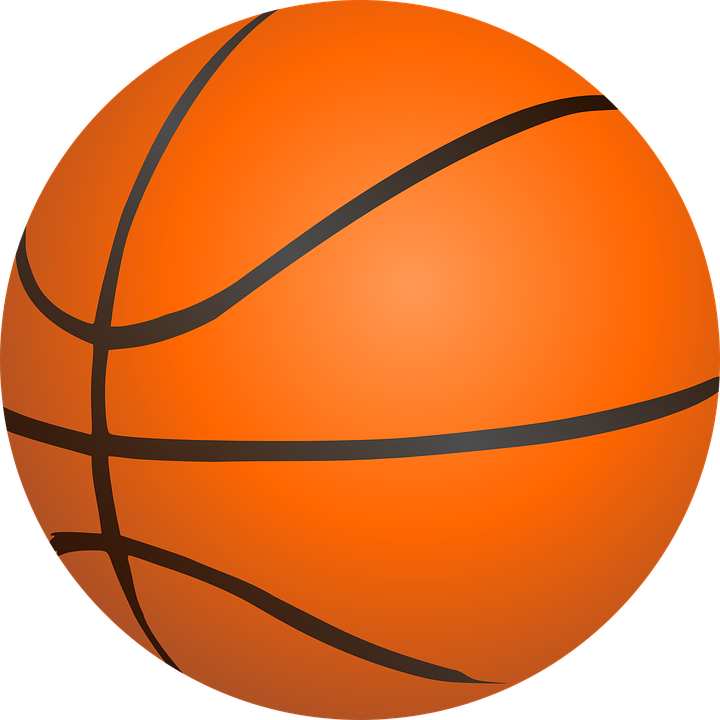 Retro basketball players shooting clipart graphic free library Basketball - Free images on Pixabay | calender | Pinterest | Orange ... graphic free library