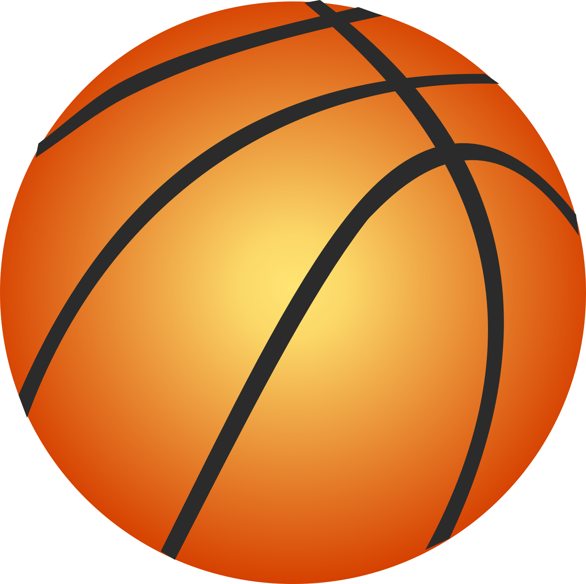 Super basketball clipart picture library download Basketball Ball Clip Art | Tags: Art , June | sports | Pinterest ... picture library download