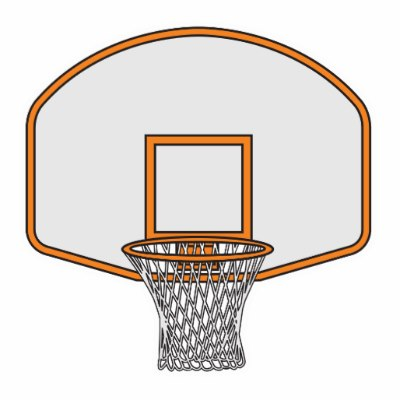 Abstract basketball net clipart png freeuse Basketball Hoop Clipart Black And White   Free download best ... png freeuse