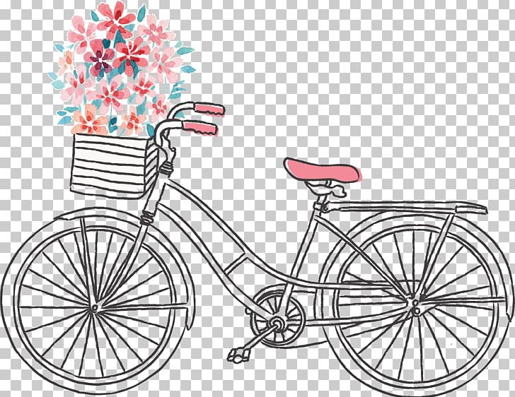 Bicycle Frame Drawing Euclidean PNG, Clipart, Abstract Lines ... image transparent library