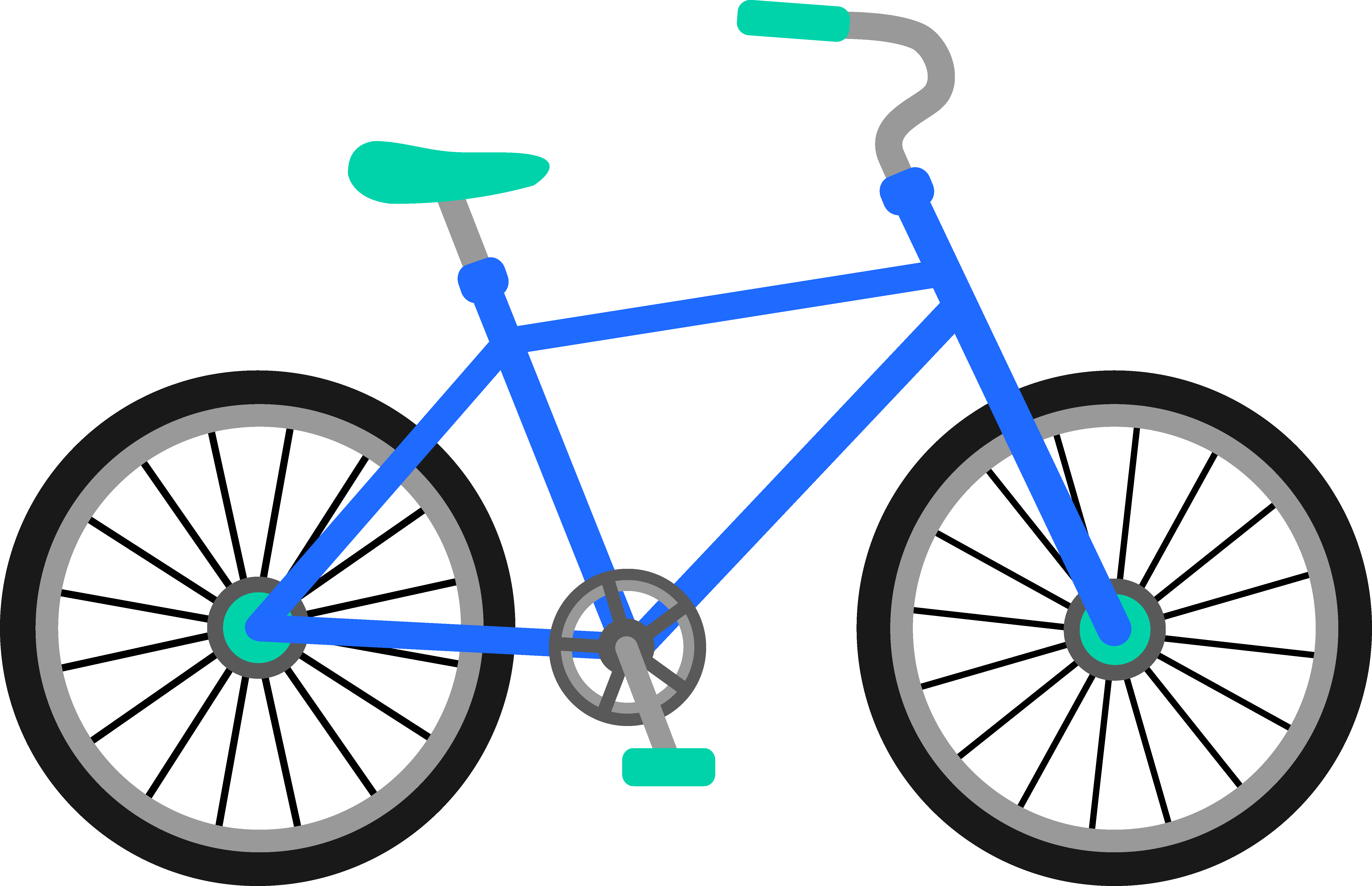 Bike clipart transparent picture library stock Clip Art: Transportation Bicycle Drawing Clip art - Bike Images png ... picture library stock