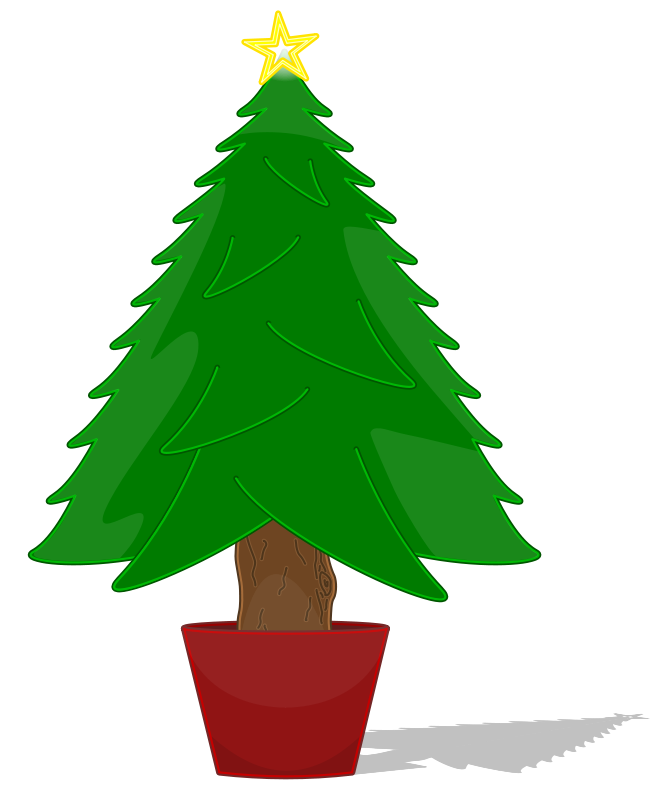 Simple Christmas Tree Clipart | Clipart Panda - Free Clipart Images svg free