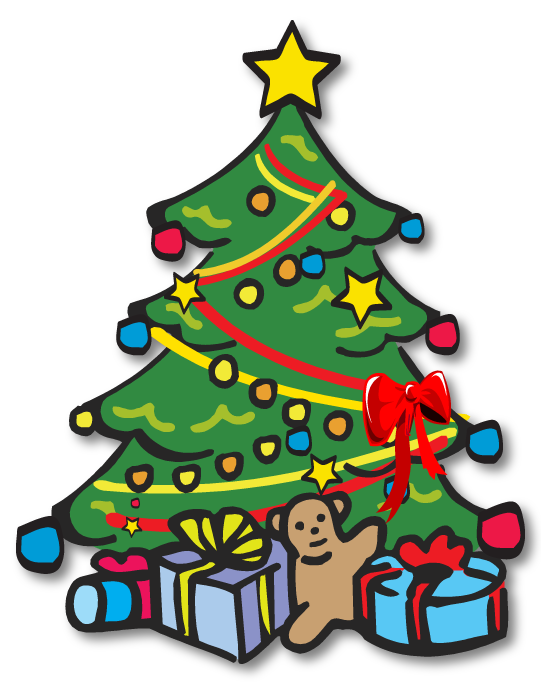 Poinsettia tree clipart banner download Christmas Trees Clipart Free | Free download best Christmas Trees ... banner download