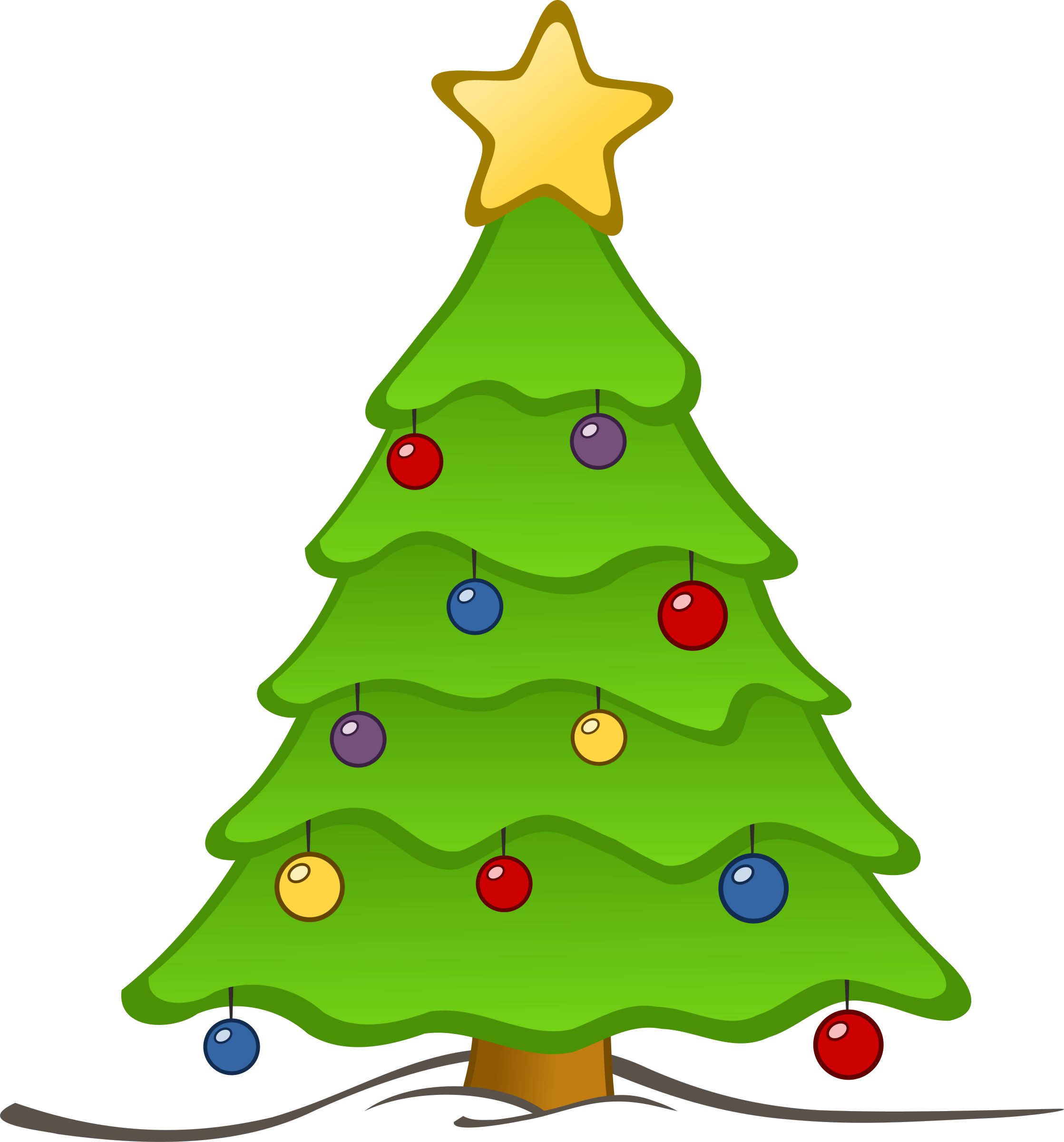 Turkey looking at christmas tree clipart image royalty free stock Christmas Tree For Drawing at GetDrawings.com | Free for personal ... image royalty free stock