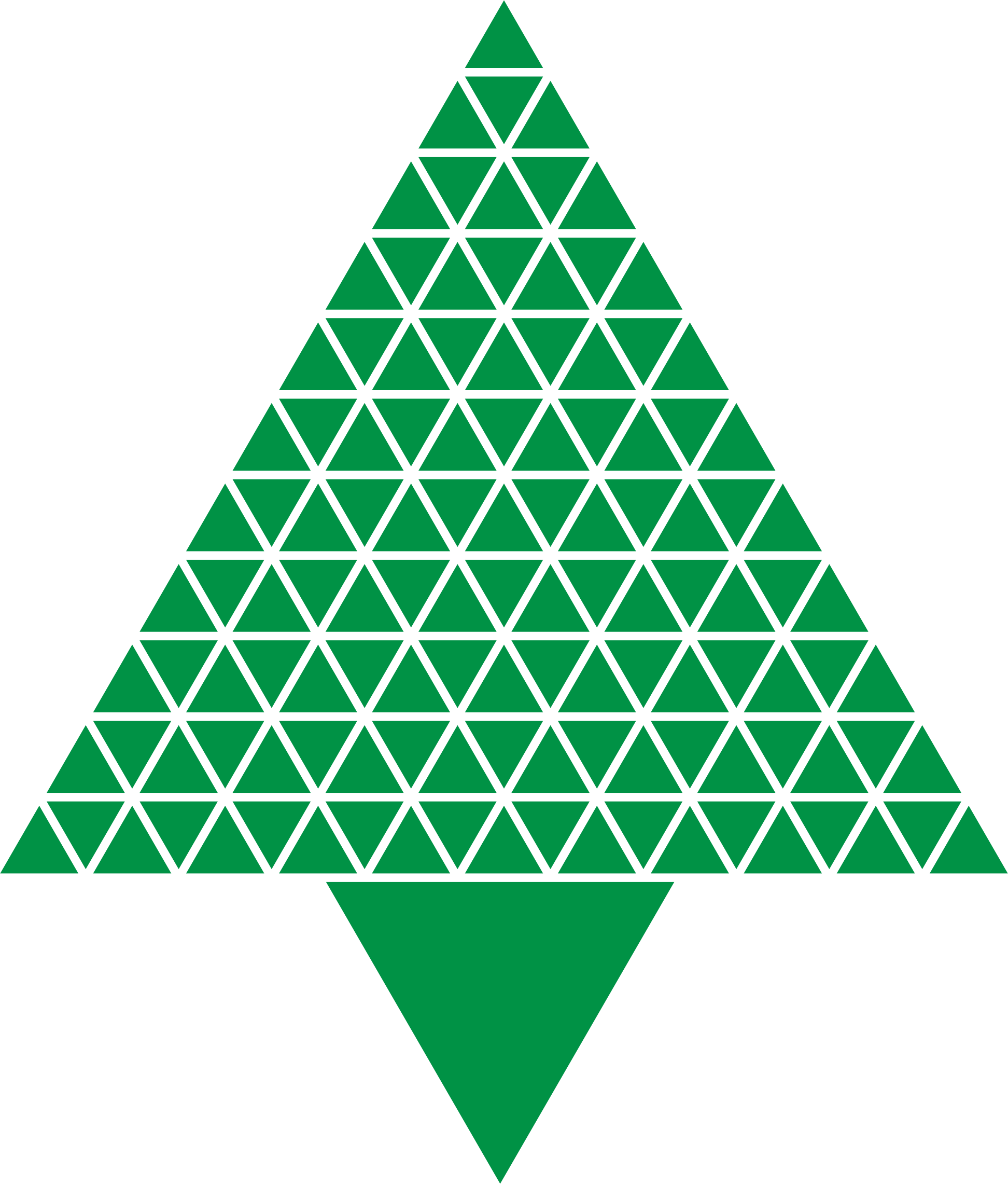 Abstract Triangular Christmas Tree Green Icons PNG - Free PNG and ... image library stock