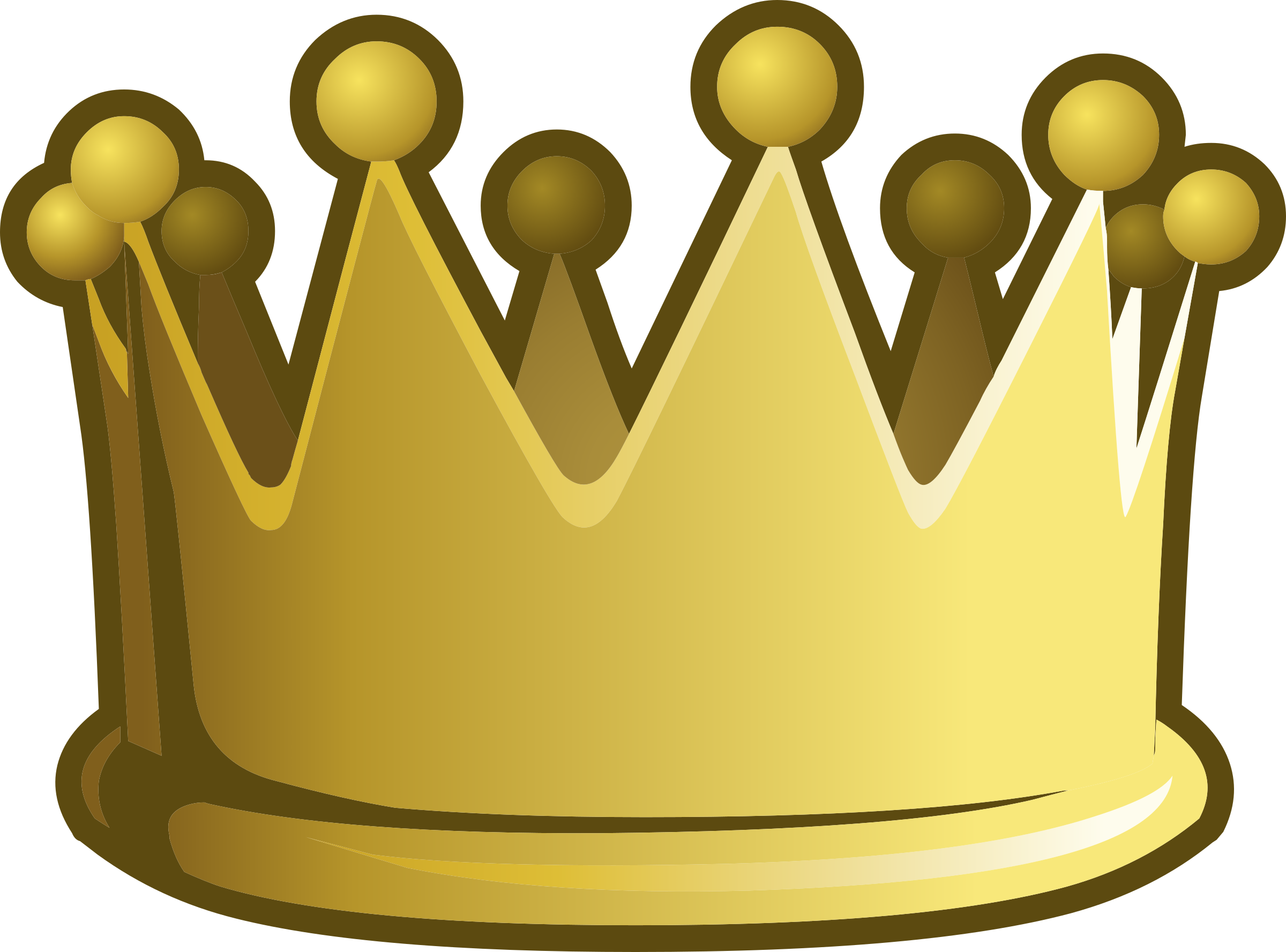 Crown clipart small clip black and white library Misc Game Crown Icons PNG - Free PNG and Icons Downloads clip black and white library