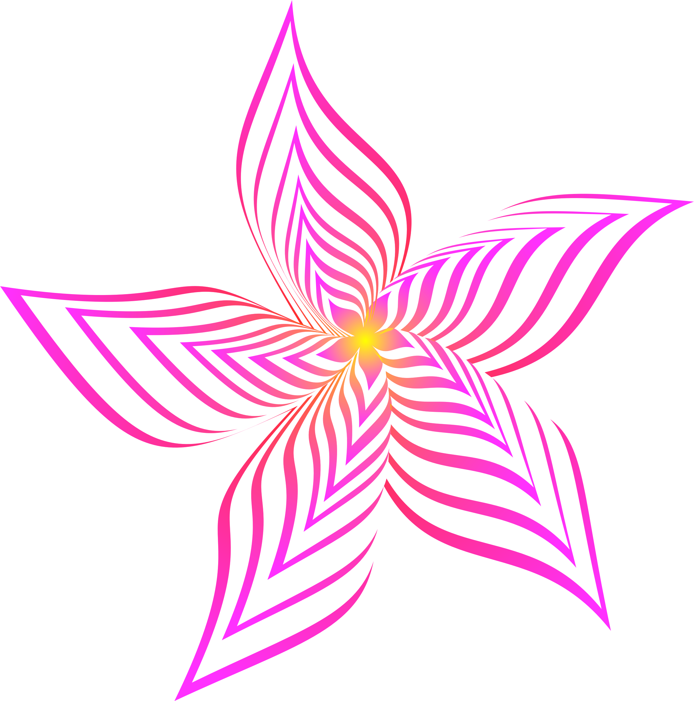 Abstract flower clipart clipart transparent stock Clipart - Abstract flower 28 (colour 2) clipart transparent stock