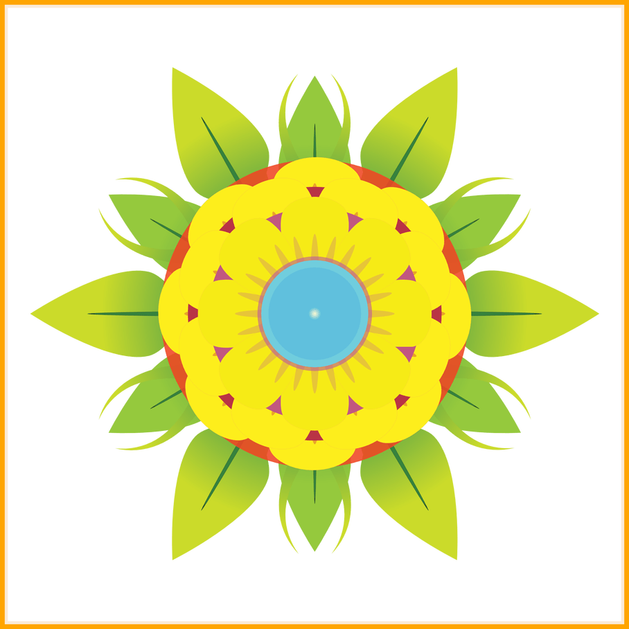 Abstract flower clipart png library The Best Yellow Abstract Flower Clipart Clip Art Everyday For Pict ... png library