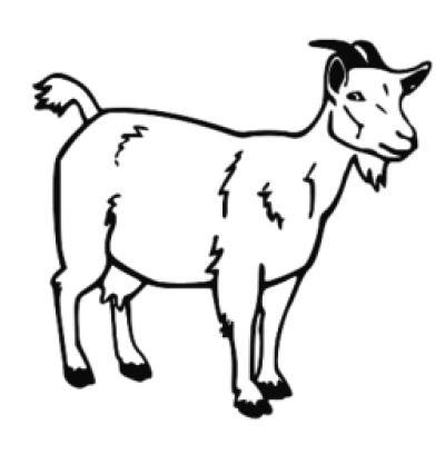 Abstract goat clipart clipart 28+ Collection of Free Black And White Goat Clipart PNG - DLPNG.com clipart