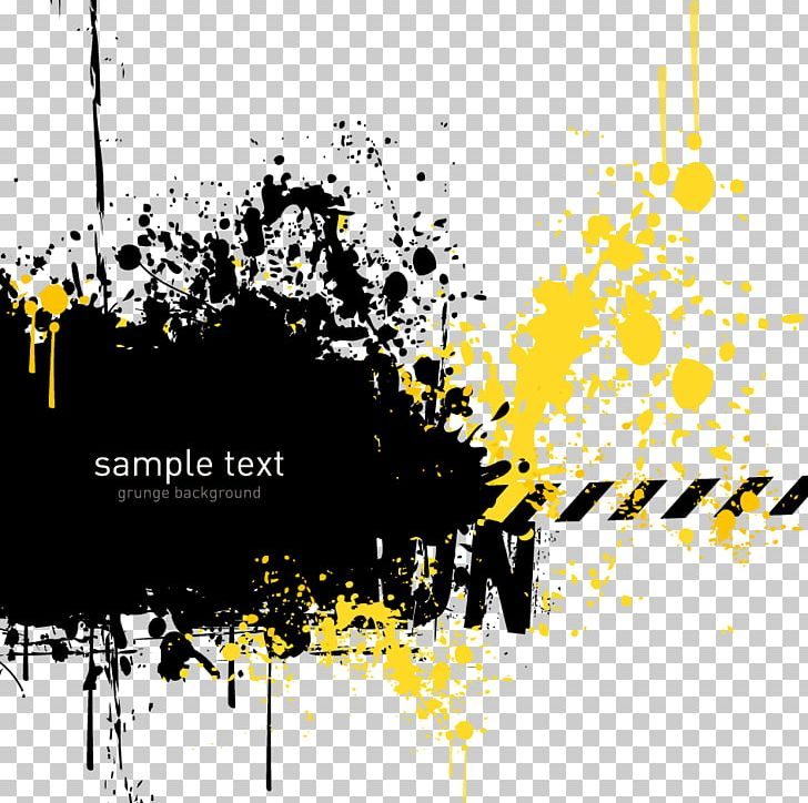 Grunge Yellow PNG, Clipart, Abstract, Abstract Background, Abstract ... image black and white download